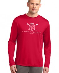 CatchandFeather_LongSleevePerformanceTee_Model_red
