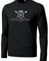 CatchandFeather_LongSleevePerformanceTee_black-white