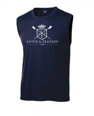 CatchandFeather_MensSleevelessPerformanceTee_navy