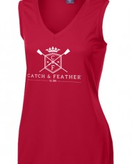 CatchAndFeather_LSleevelessPerformanceTee_red