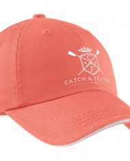 CatchandFeather_Hat_coral-white