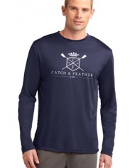 CatchandFeather_LongSleevePerformanceTee_Model_blue