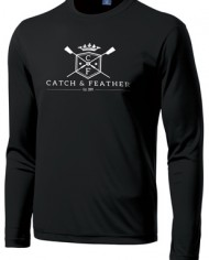 CatchandFeather_LongSleevePerformanceTee_black-white
