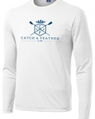 CatchandFeather_LongSleevePerformanceTee_white