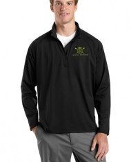 CatchandFeather_MensPerformanceHalfZip_Model_black