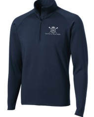 CatchandFeather_MensPerformanceHalfZip_navy