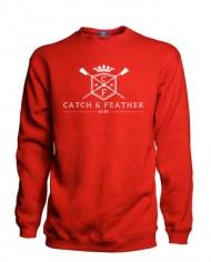 catchandfeatherregattacrew_red
