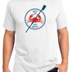 Not In My Boat T-shirt (Mens)